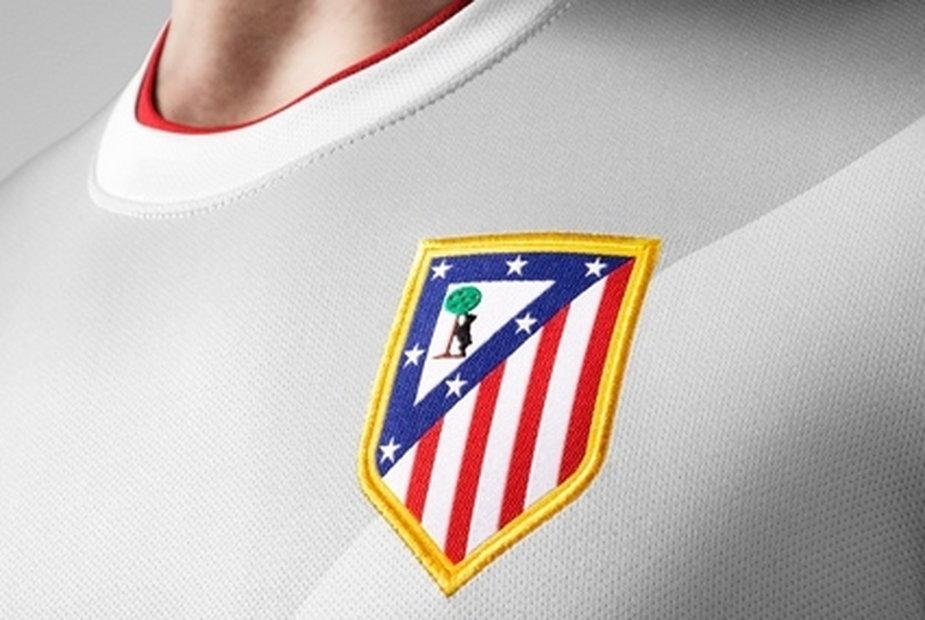 Herb Atletico Madryt na koszulce