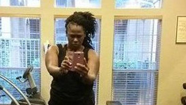 Uche Jombo-Rodriguez shares first post baby work out photo