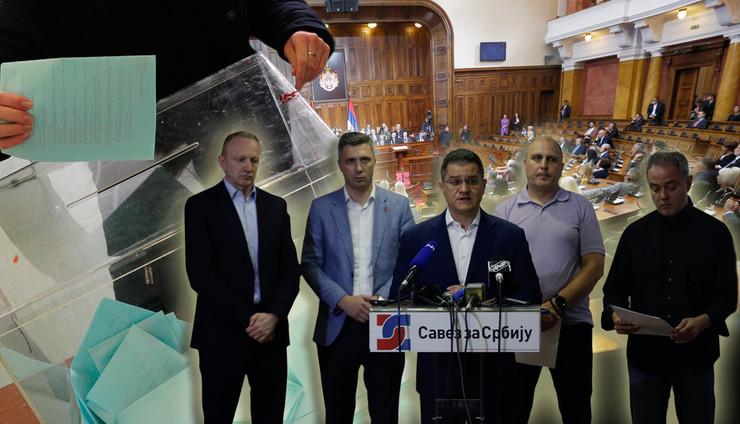 opozicija kombo 2 foto RAS Oliver Bunic, Vesna Lalic, Dusan Milenkovic