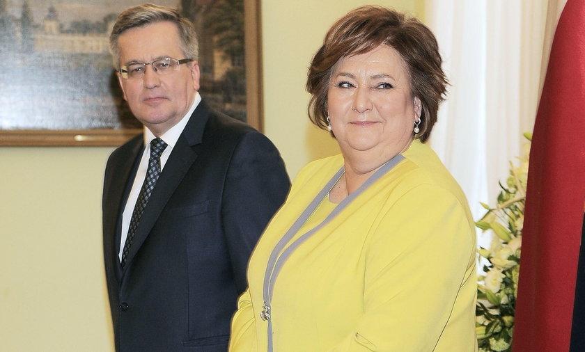 Anna Komorowska, Bronisław Komorowski
