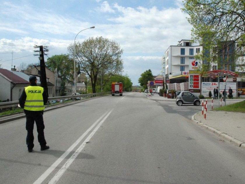 Wypadek w Jarosławiu