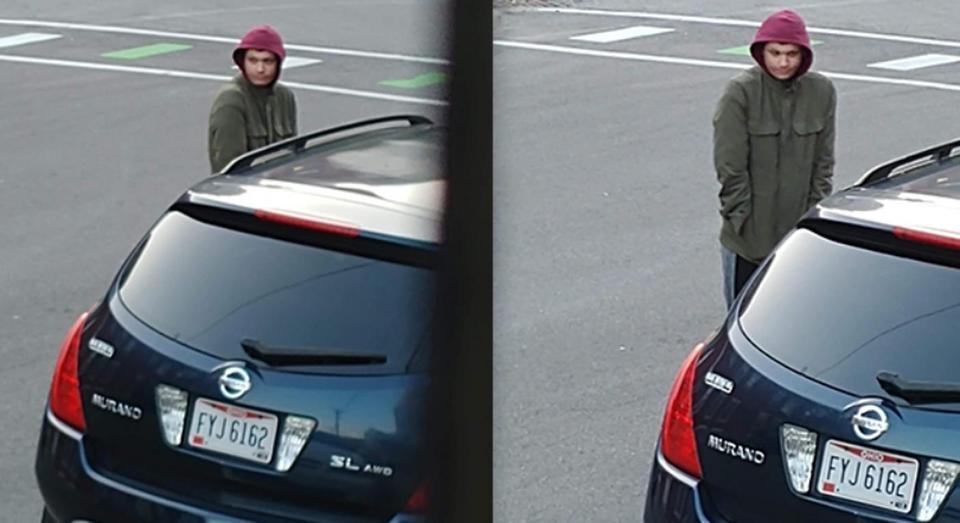 Błąkał się po parkingu i zaczepiał ludzi. Twierdził, że jest zaginionym chłopcem przed laty
