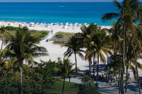 Majami, koji je Boris posetio tokom programa, poznat je po prelepim plažama