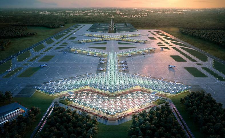 04 Terminal CPK. Koncepcja Foster + Partners