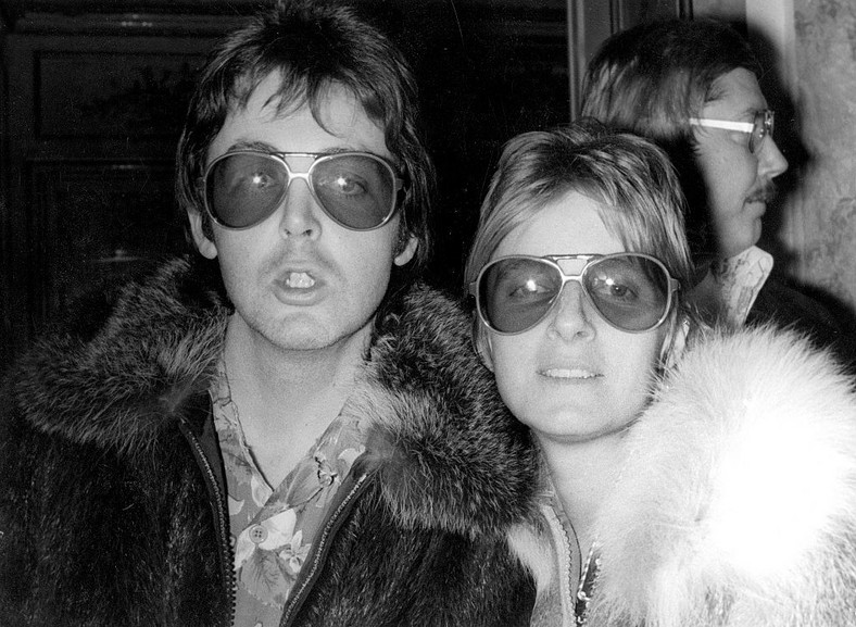 Linda Eastman i  Paul McCartney