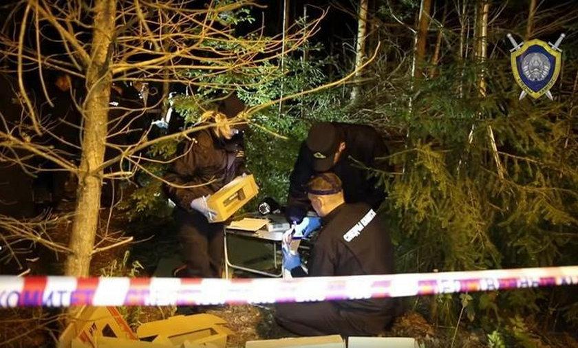 Miejsce znalezienia zwłok policjanta