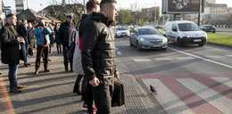 Gwiazda Górnika Zabrze wyszła na przejście dla pieszych. Co się stało?