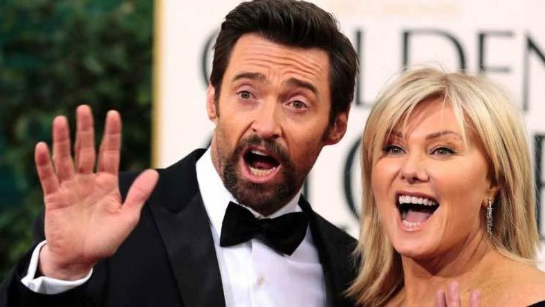 Hugh Jackman and Deborah Lee-Furness