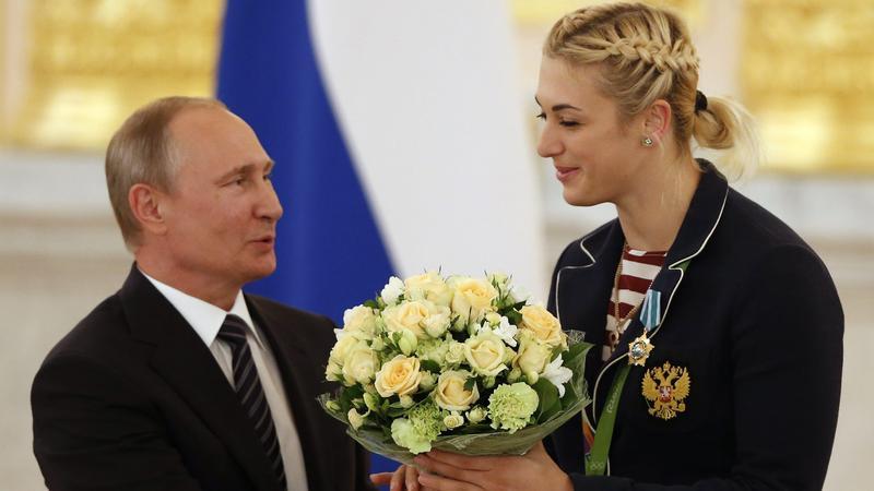 Władimir Putin i Anna Sen