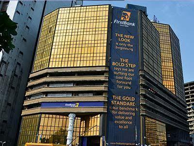 First Bank of Nigeria Plc building at Marina, Lagos