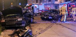"""Horror na ulicy w Łodzi. """"To była miazga. Z auta dymiło, potrzebny był łom"""""""
