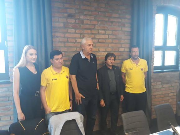 Delegacija KK AEK predvođena našim stručnjakom Draganom Šakotom