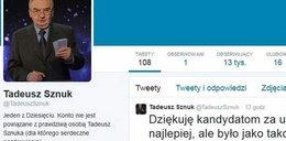 Fałszywy Sznuk z Twittera drwi z debaty prezydenckiej