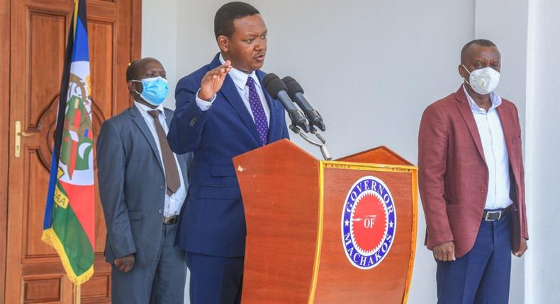 Governor Mutua announces 10 measures to cushion people of Machakos from financial effects of Covid-19