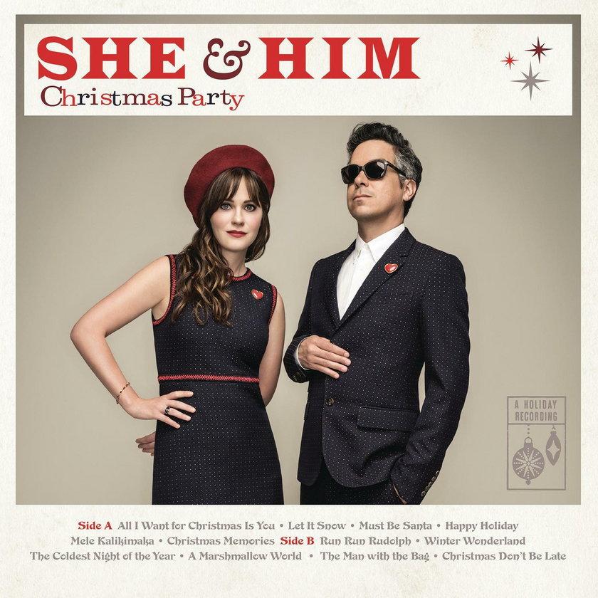 "Zooey Deschanel i zespół ""SHE&HIM"""