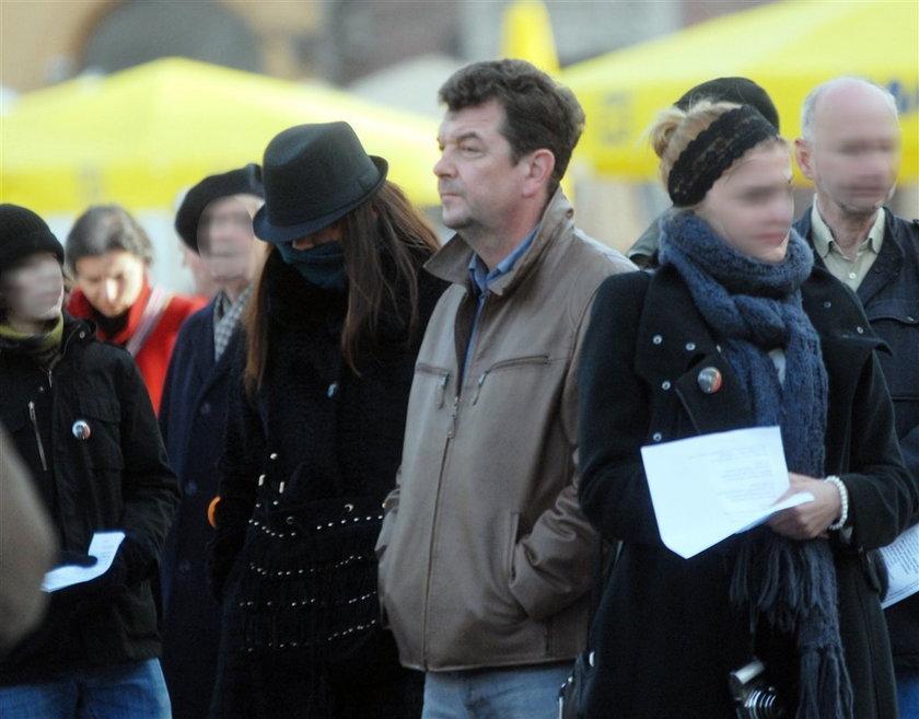 Radwańskie na obchodach smoleńskich. FOTO