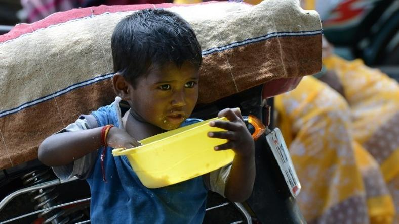 Dirty water stunts millions of Indian children: study