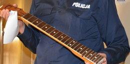 Zaatakował nastolatka gryfem od gitary