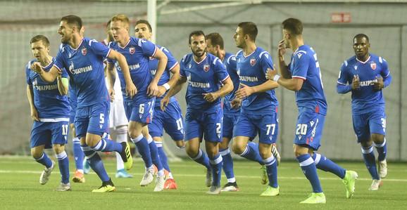 Fudbaleri Zvezde gledaće da dobru formu u prvenstvu pretoče u uspeh u Evropi