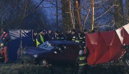 Wypadek w Tryńczy. Mężczyźni podróżujący z nastolatkami byli pijani
