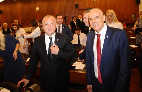 Goran Vesić i Zoran Radojičić