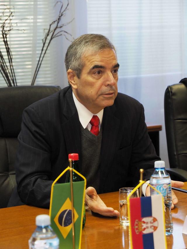Ambasador Brazila Eduardo Boteljo Barboza