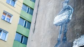 Łódź - dzieci z getta na muralach