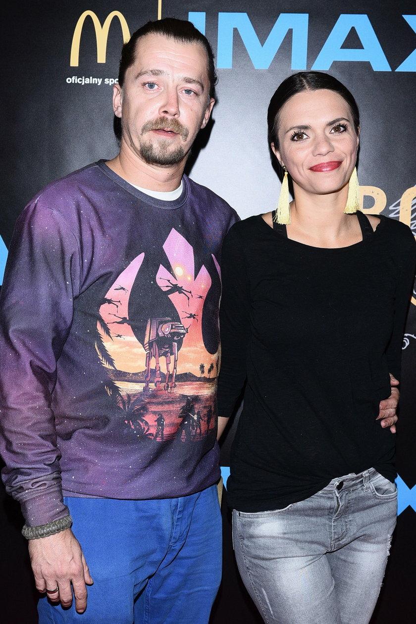 Bartosz Obuchowicz i Katarzyna Sobczyńska