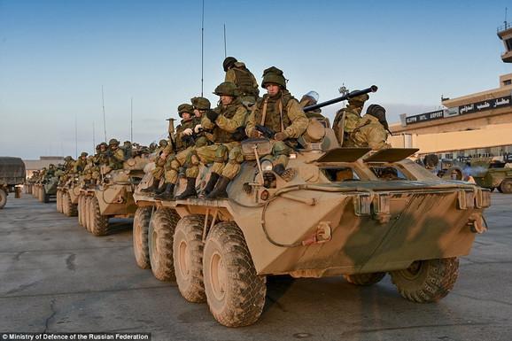 Ruska vojska kod Alepa