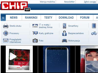 CHIP to komputerowy miesięcznik i serwis internetowy