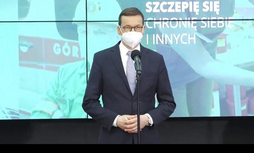 Koronawirus. Premier podał wstępną datę znoszenia obostrzeń