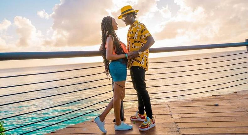 Bahati's response after female fan accused him of only using light skin vixens in music videos