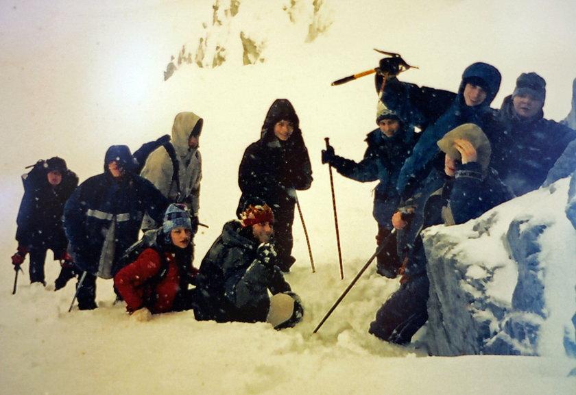 Wyprawa licealistów na Rysy w 2003 r.