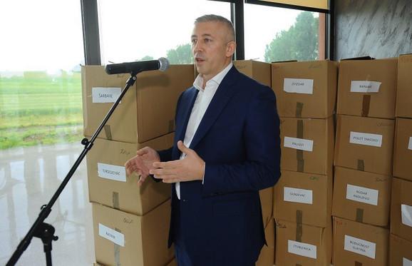 Predsednik FSS-a Slaviša Kokeza