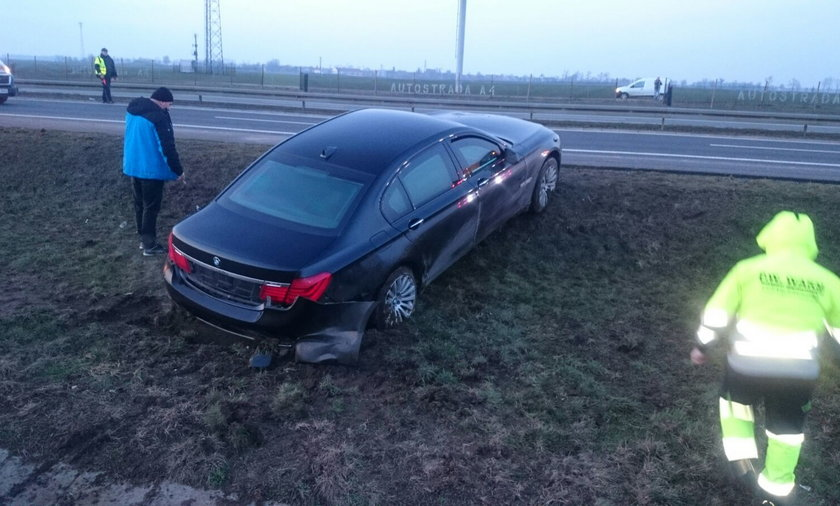 wypadek Andrzeja Dudy