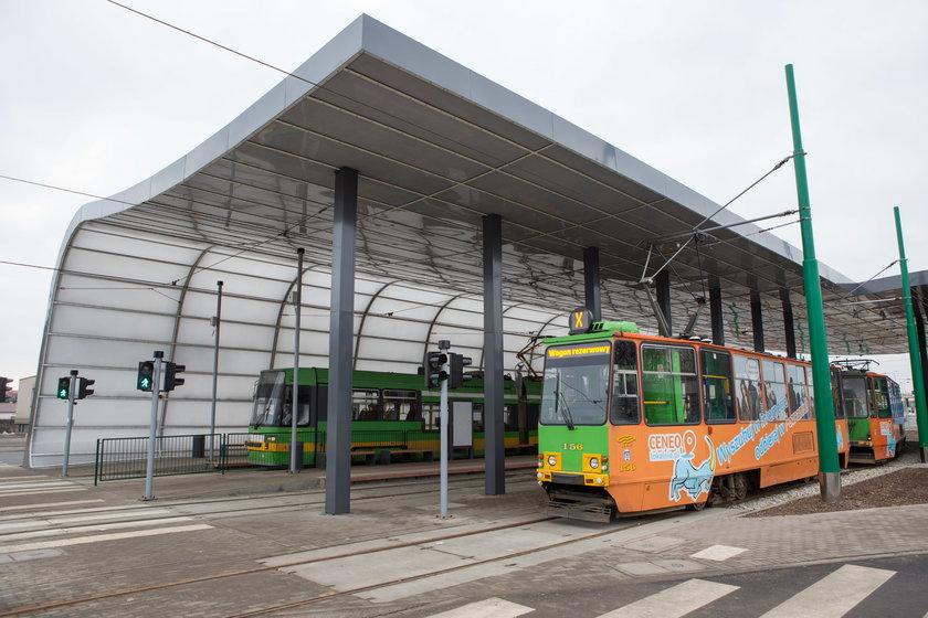 Na Junikowo dojeżdżają tylko dwie linie tramwajowe