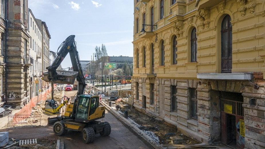 Łódź buduje ul. Rewolucji 1905 r.