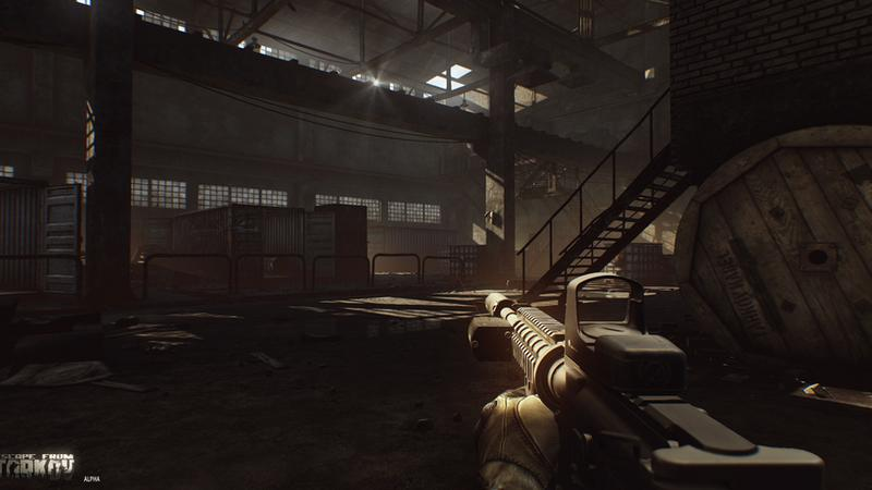 Escape from Tarkov - masa nowych screenów i modeli broni