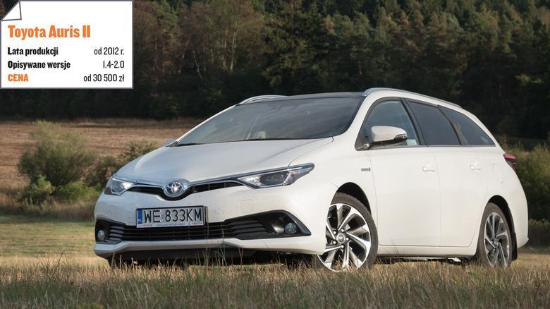 Aurisa II kupiciejako 5-drzwiowegohatchbacka, kombilub sedana (Corolla).