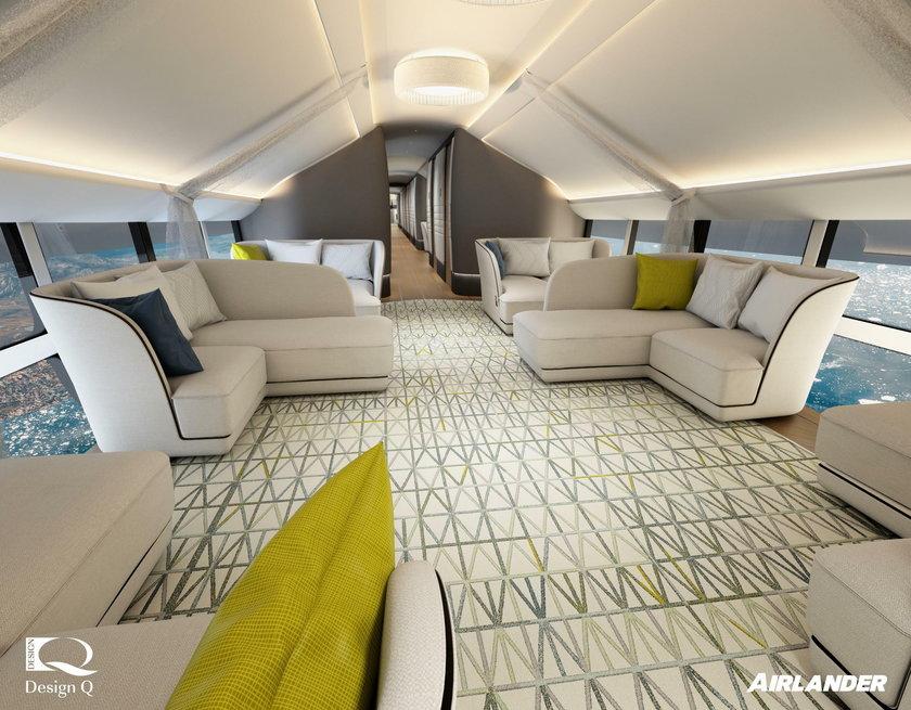 To największy samolot na świecie, wnętrze robi wrażenie, ale jest pewien problem