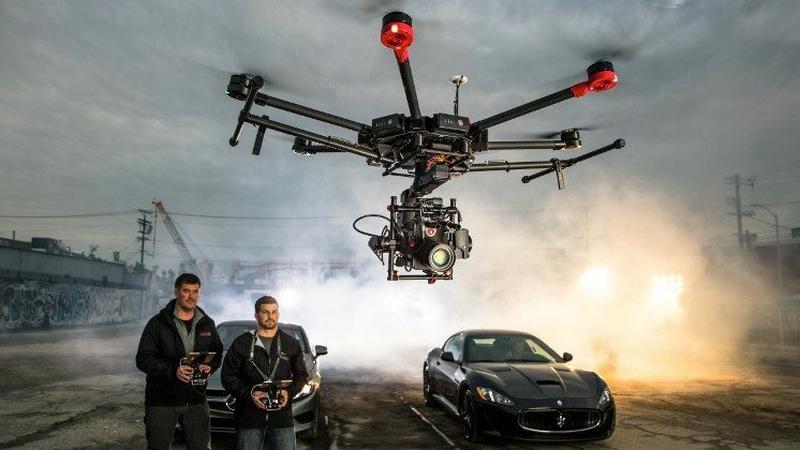 DJI Matrice M600 - nowy dron dla filmowców