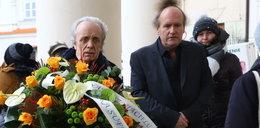 Gwiazdy na pogrzebie Romualda Lipki. Tak pożegnali przyjaciela
