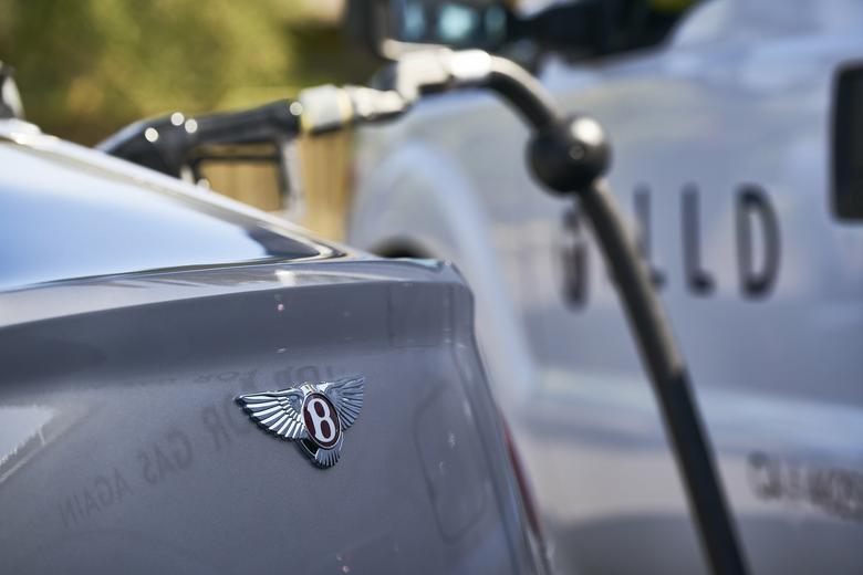 Bentley - usługa tankowania na miejscu