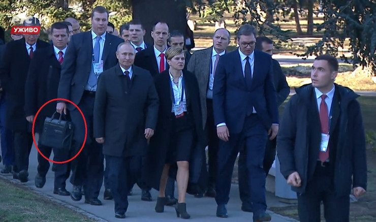 Čeget Putin torba