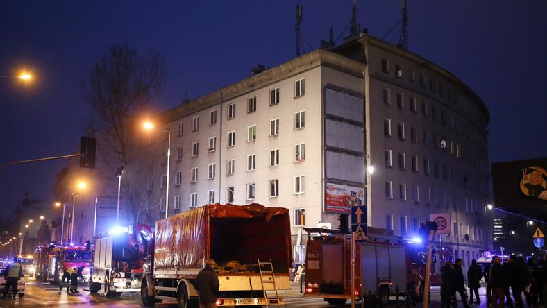 Kamienica przy ul. Noakowskiego, w której doszło do wybuchu