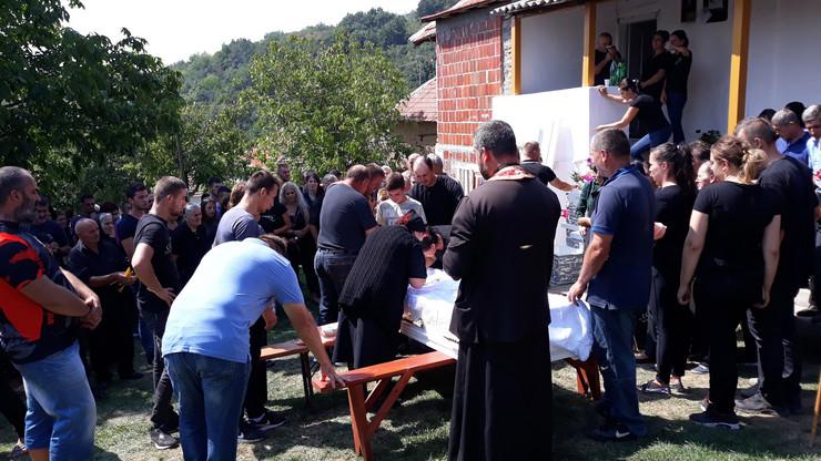 Suzana Bogdanović, beba, Prokuplje, Sahrana, Ispraćaj
