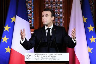 Macron: Gdy Europa się rozbrajała, inne kraje wzmacniały swój potencjał
