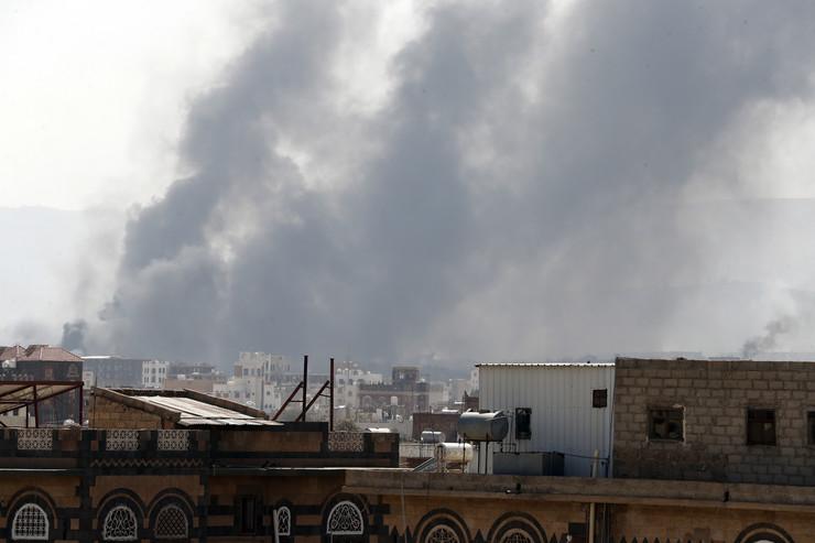 Saudijski napad na Sanu