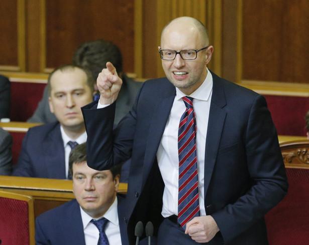Jaceniuk zapowiada utworzenie nowej koalicji rządowej