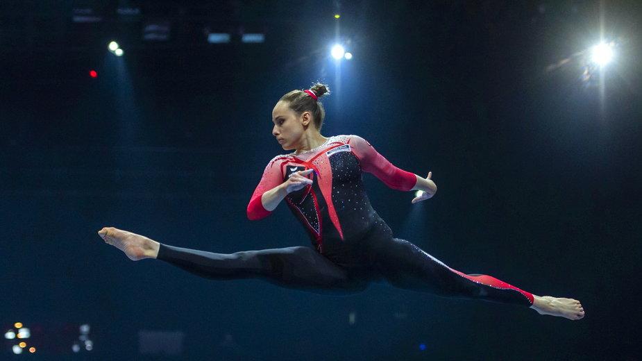 Sarah Voss w rewolucyjnym stroju gimnastycznym na ME w Bazylei